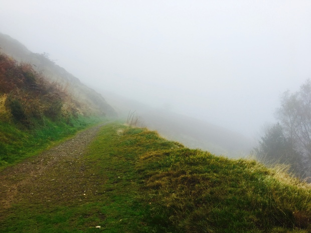 Walking track on Malvern Hills