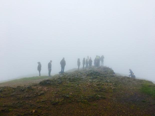 Malvern Hills walkers