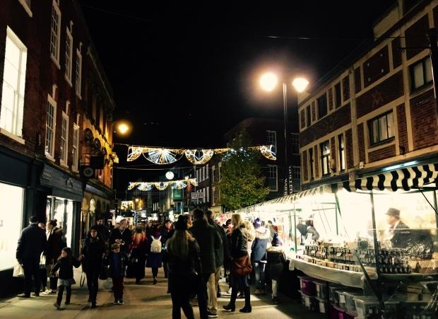 Worcester Christmas Fayre 2016