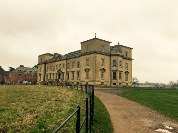The approach to Croome Court, Worcestershire.