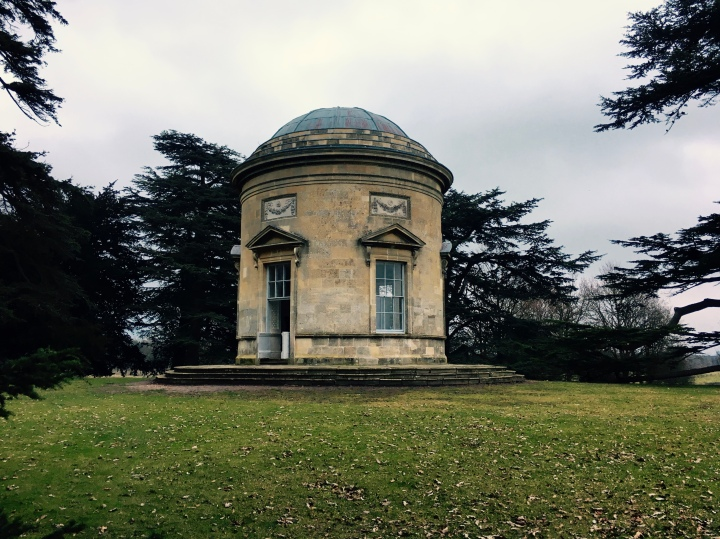 The rotunda at National Trust property, Croome Court, in Worcestershire.