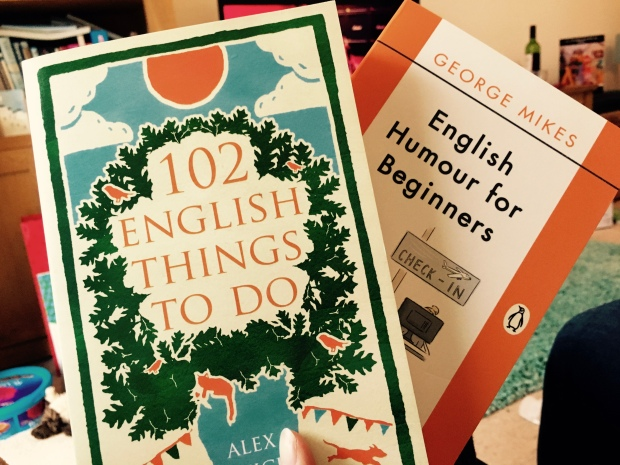 Christmas gifts about becoming more British.