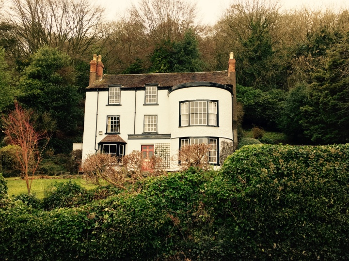 Large cottage in English town of Malvern, Worcestershire