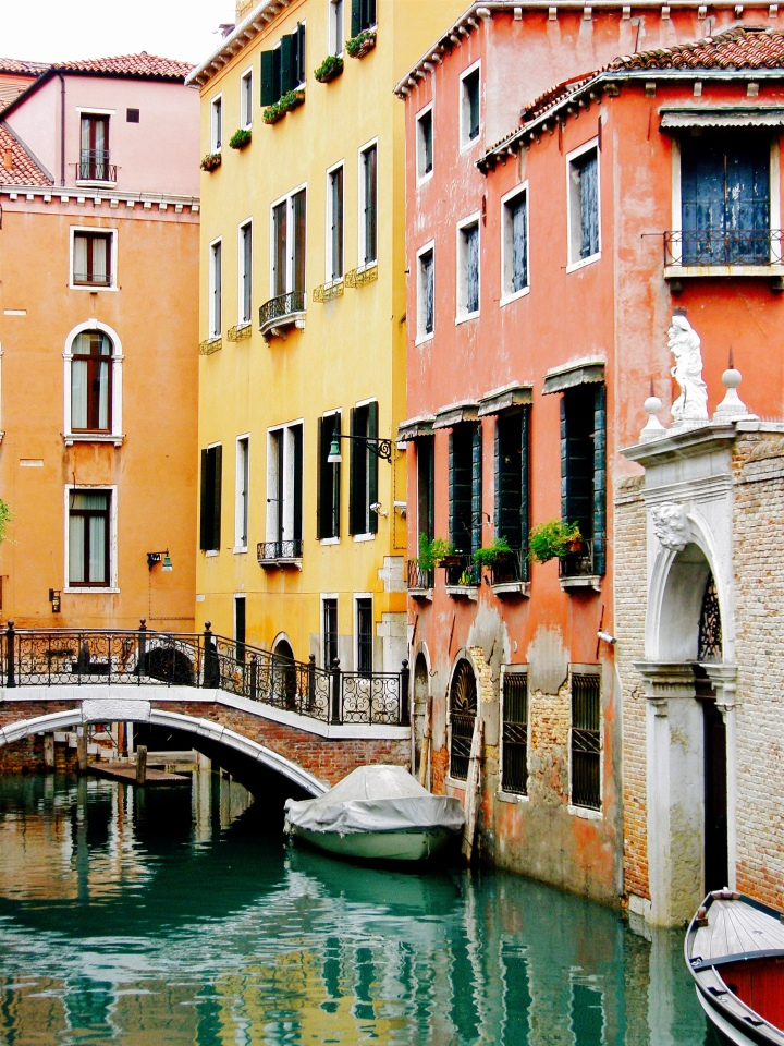 Canals in Venice.