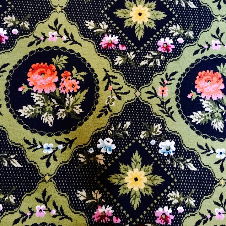 Carpet in National Trust property, Tredegar House, in Wales.
