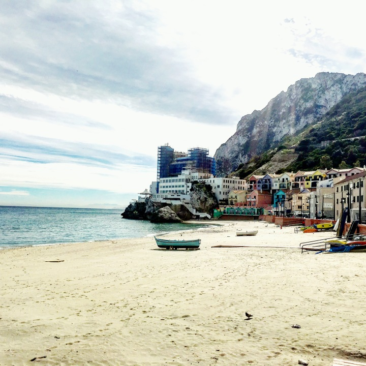 Catalan Bay, Gibraltar.