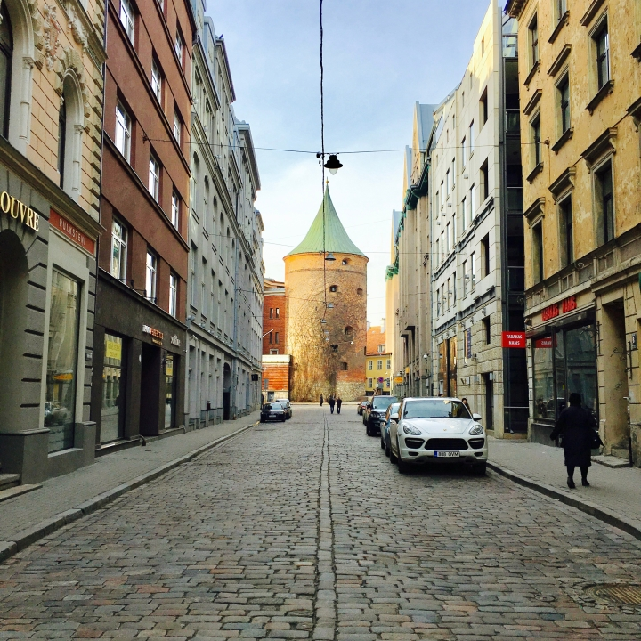 A postcard from Riga