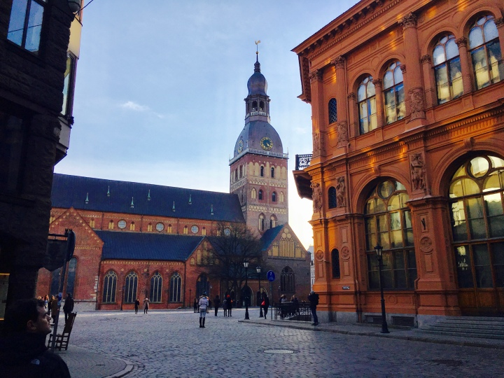 Old Town in Riga Latvia.