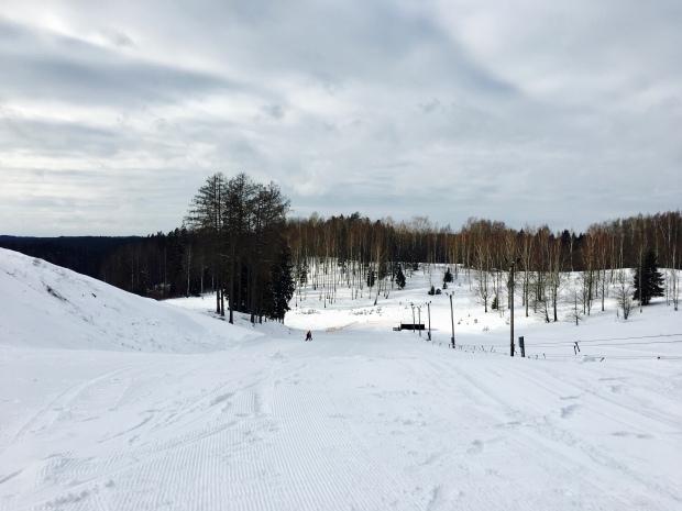 Zalgarkalns Ski Resort in Cesis, Latvia.