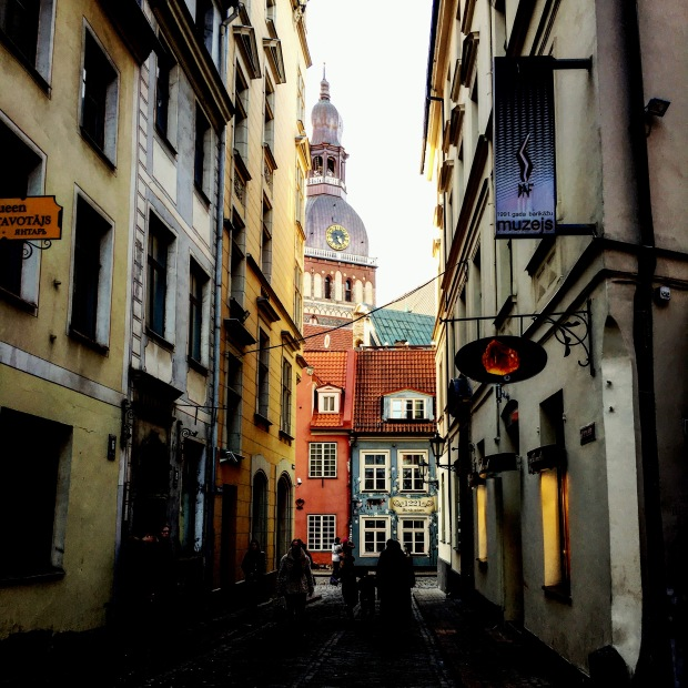 Old Town in the Latvian capital of Riga.