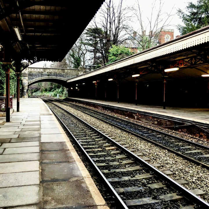 Great Malvern train station, England.