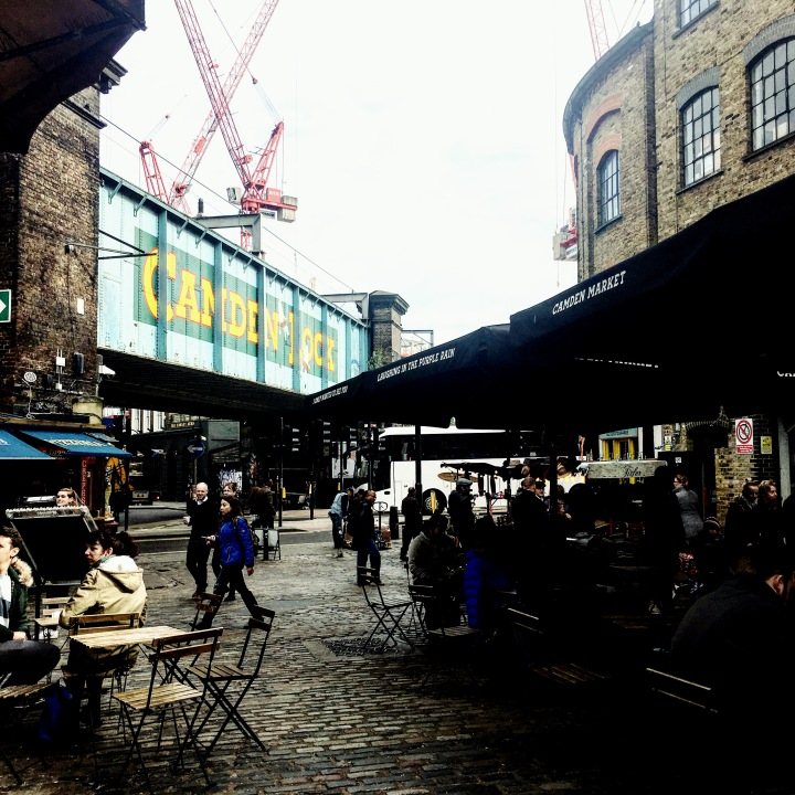 Camden Lock markets, London.