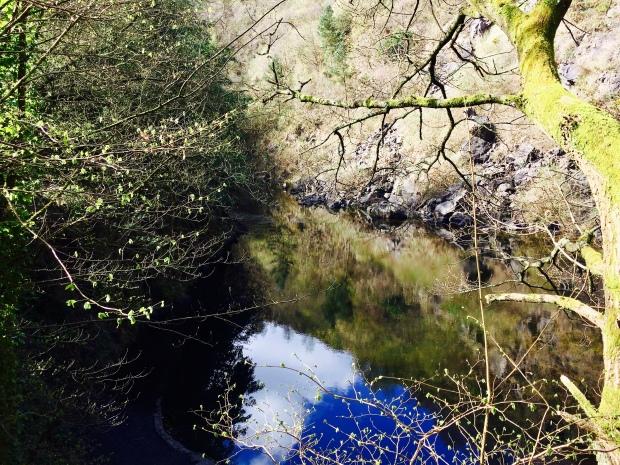 Hidden Lake on the Malvern Hills.