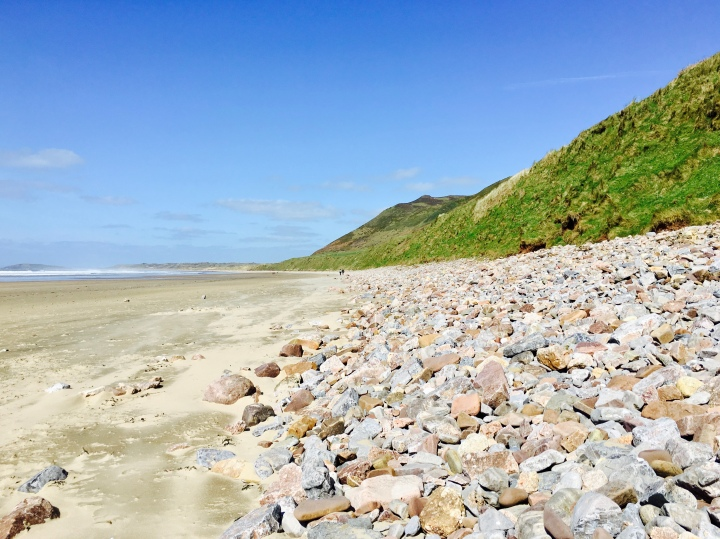 Rhossili Beach, Gower Peninsula, Wales.