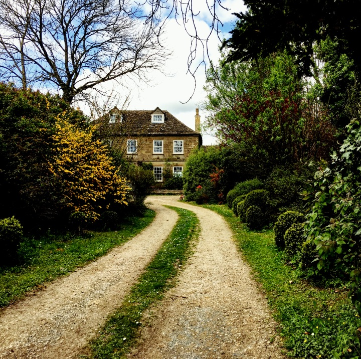 House in the village of Nympsfield, Gloucestershire.