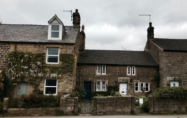 Cottage in Hathersage, Derbyshire.