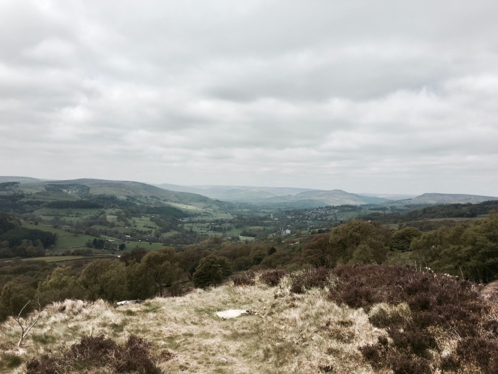 Surprise View in the Peak District National Park.