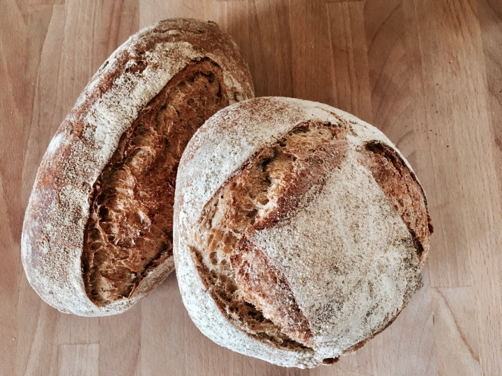 Peter Cooks Bread loaves