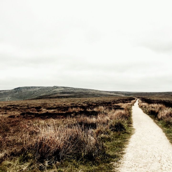 Dark Peak in the Peak District National Park.
