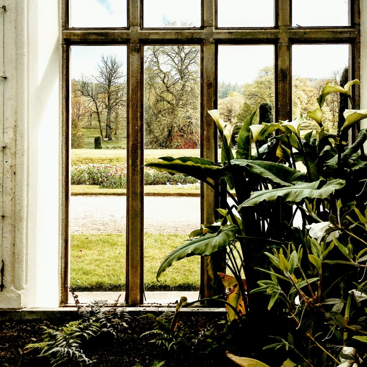 The Orangery at Lyme Park, Disley, Derbyshire.