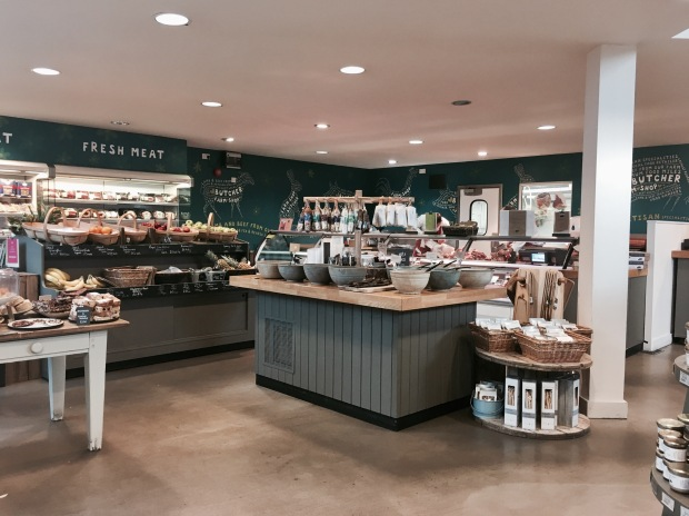Tebay Services Farm Shop, Cumbria, England.