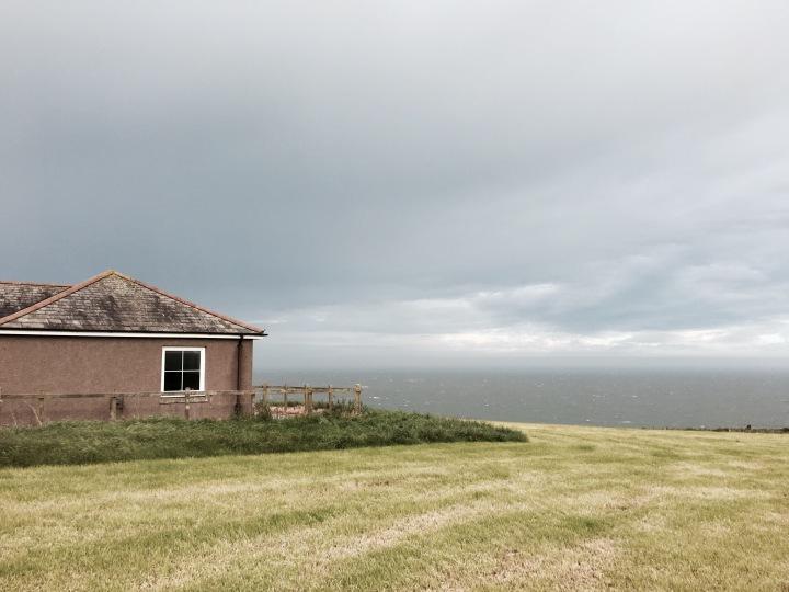The Lookout near Dundrennan, Dumfries and Galloway, Scotland.