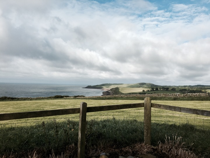 The view from The Lookout near Dundrennan, Dumfries and Galloway, Scotland.