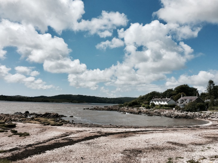 The village of Rockcliffe, Dumfries and Galloway, Scotland.