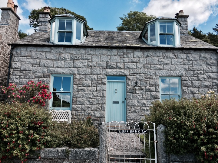 Cottage in Kippford, Dumfries and Galloway, Scotland.