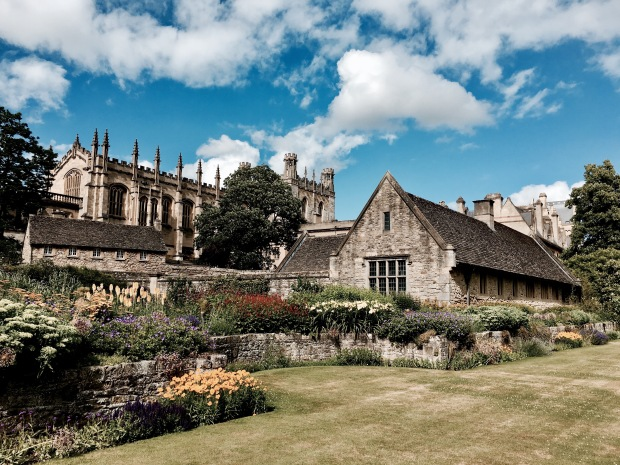 Christ Church Memorial Garden, Oxford, England.