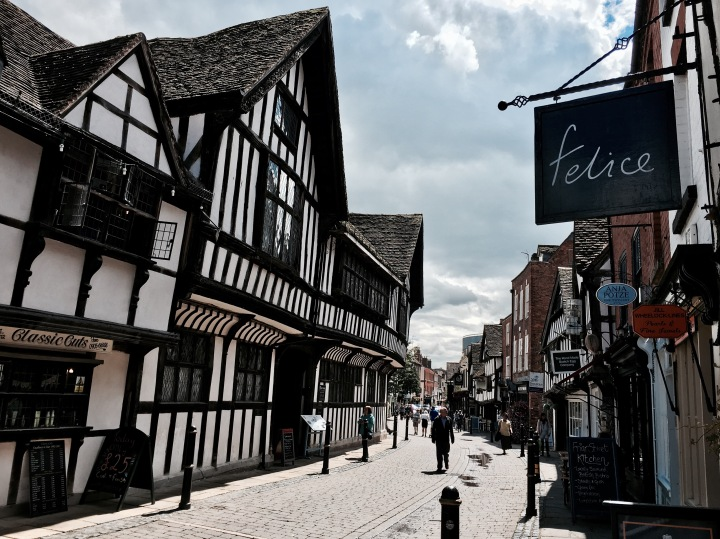 Friar Street, Worcester, Worcestershire.