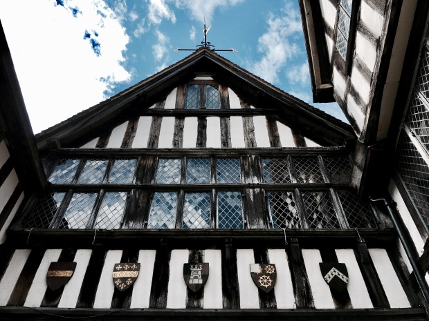 National Trust property, Greyfriars' in Worcester, Worcestershire.