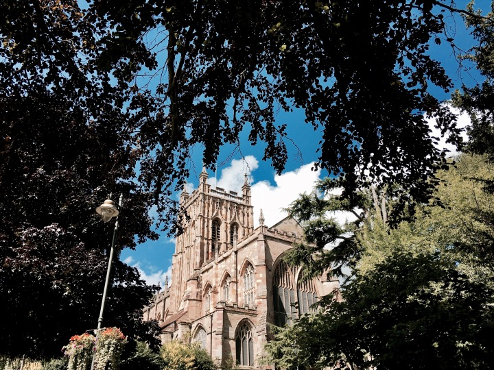Great Malvern Priory, Worcestershire England.