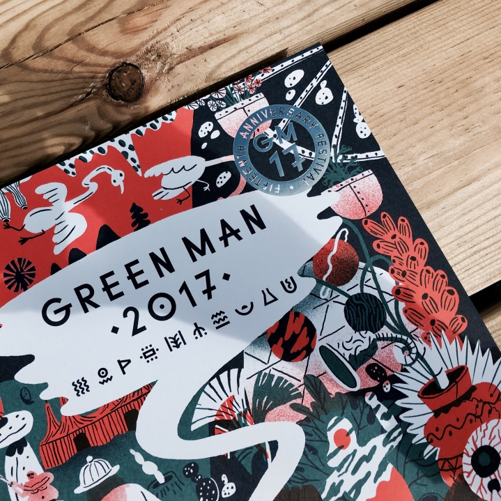 Green Man festival program for 2017.
