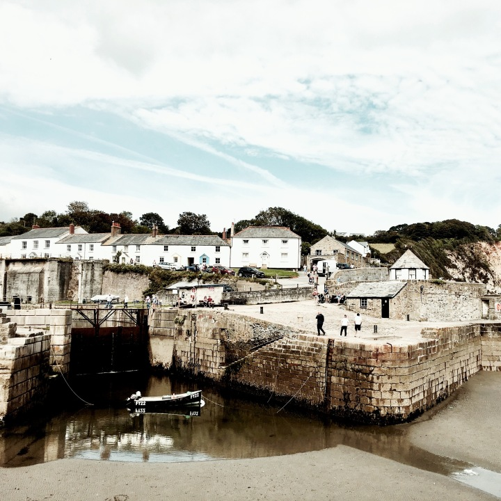 Charlestown Harbour, Cornwall, England.