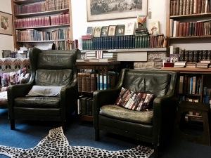 Addyman Books shop in Hay-on-Wye, Wales.