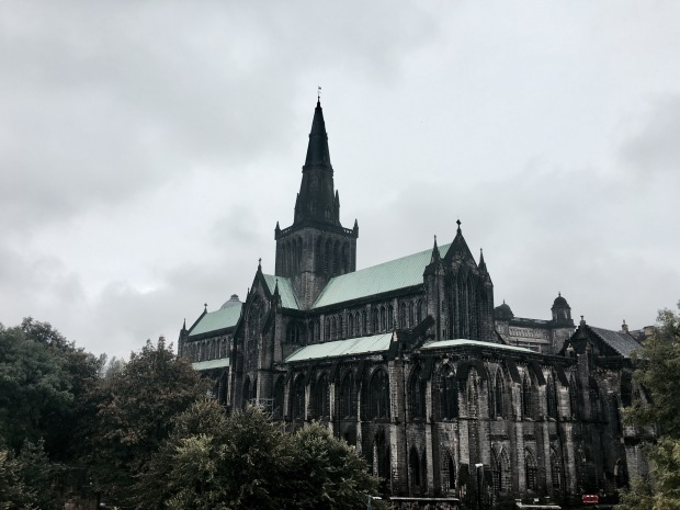 The Glasgow Cathedral, Scotland.