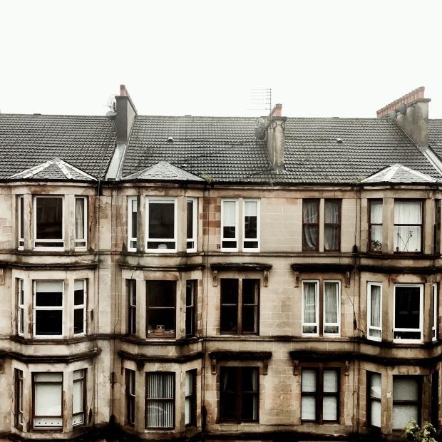 Apartments in the Glasgow suburb of Dennistoun.