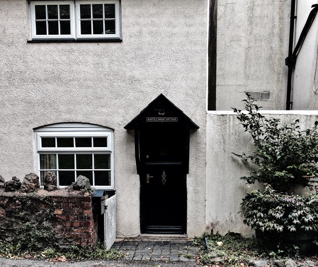 House on Holywell Road, Malvern, Worcestershire, England.