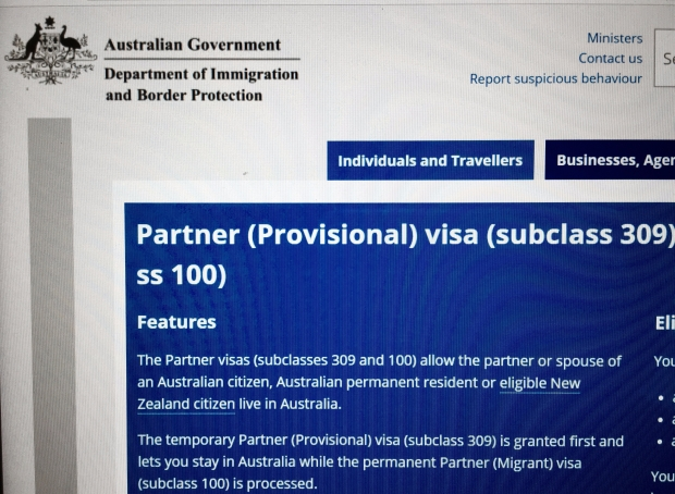 Australian Department of Immigration and Border Protection website.