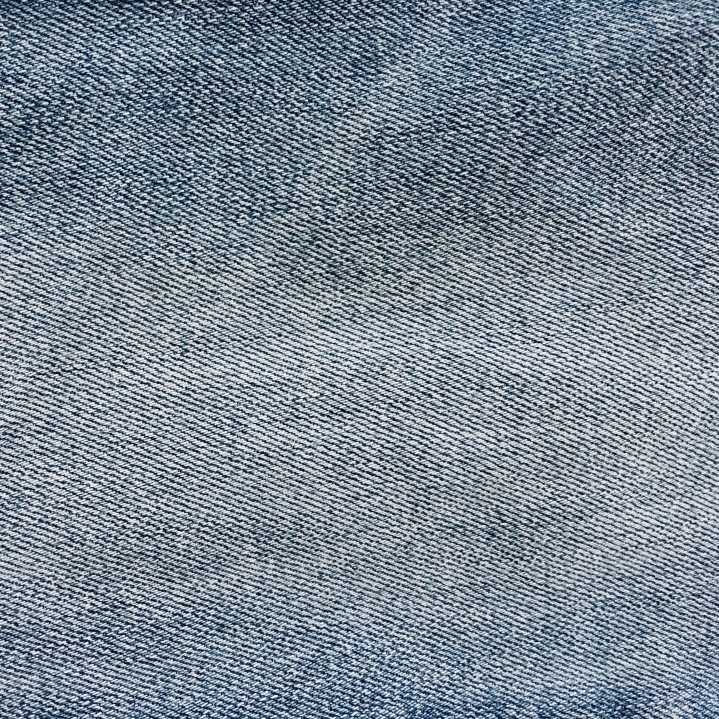 Close up shot of denim material.