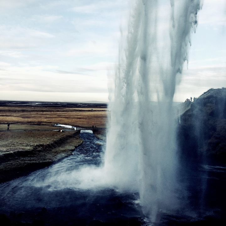 Seljalandsfoss waterfall, Iceland.