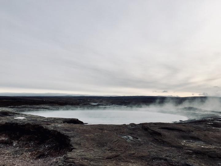 Geysir in Iceland.
