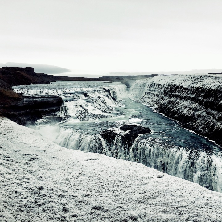 Gulfoss waterfall, Iceland.