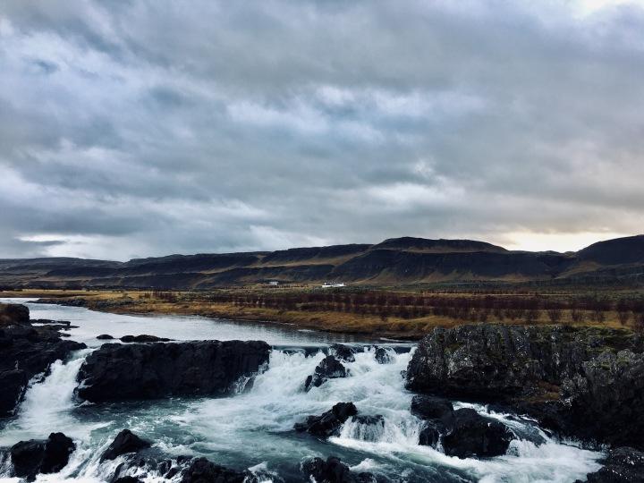 Glanni waterfall, Iceland.