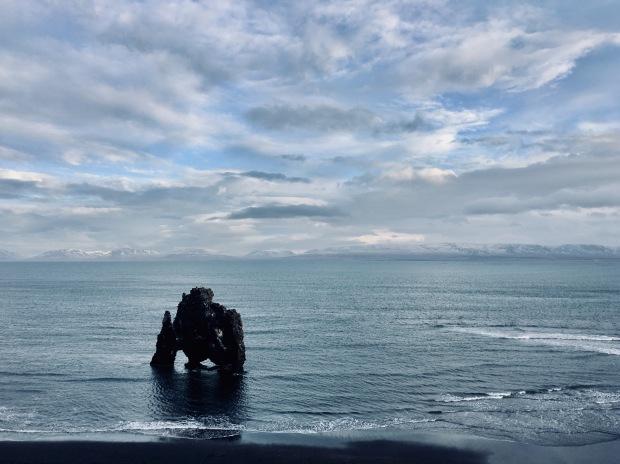 Hvítserkur rock formation, Iceland.