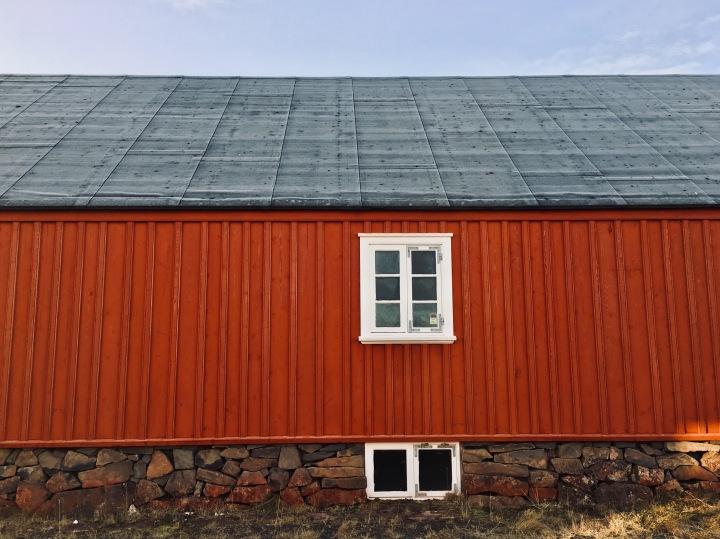 House in Blönduós, Iceland.