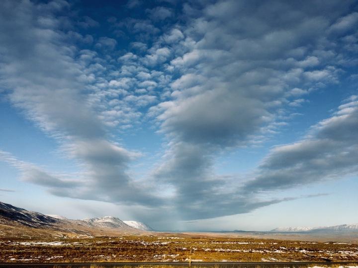 Valley near Varmahlíð, northern Iceland.