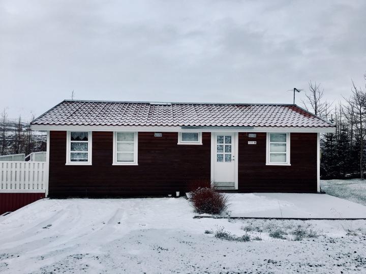 House near Akureyri, Iceland.