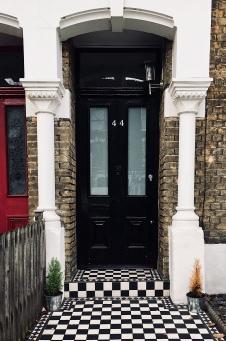 Terrace house in London.